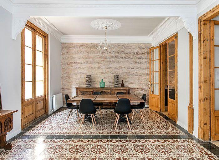 Selección de pisos de lujo en España decorados con carácter