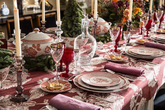Descubrimos la mesa de Navidad para Vista Alegre de Lorenzo Castillo