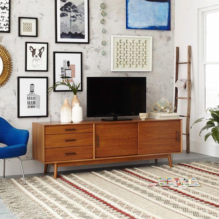 mueble retro marron