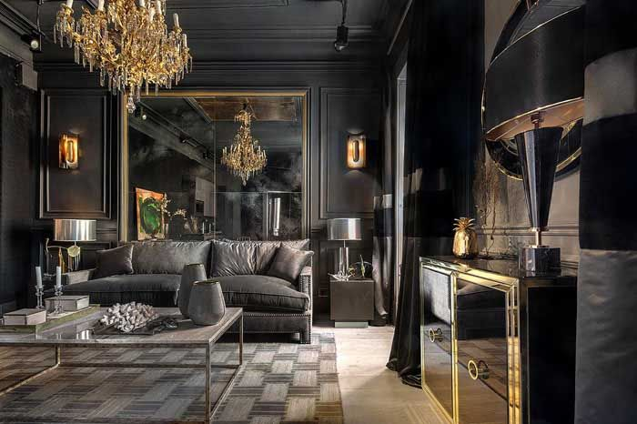 Salón Fran Casinello casa decor madrid 2018