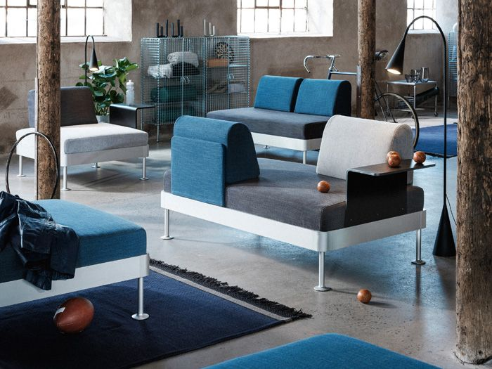 salon moderno IKEA versatil