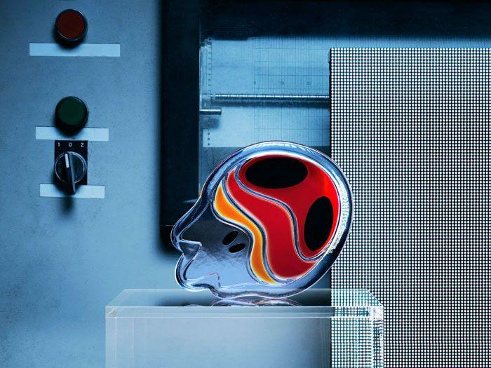 figura cabeza cerebro vidrio ikea
