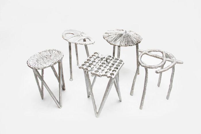 diseño taburetes y sillas