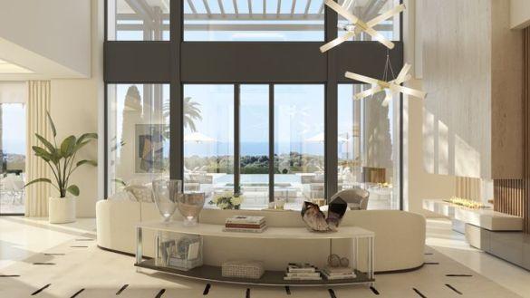 ventanal vivienda lujosa en Marbella