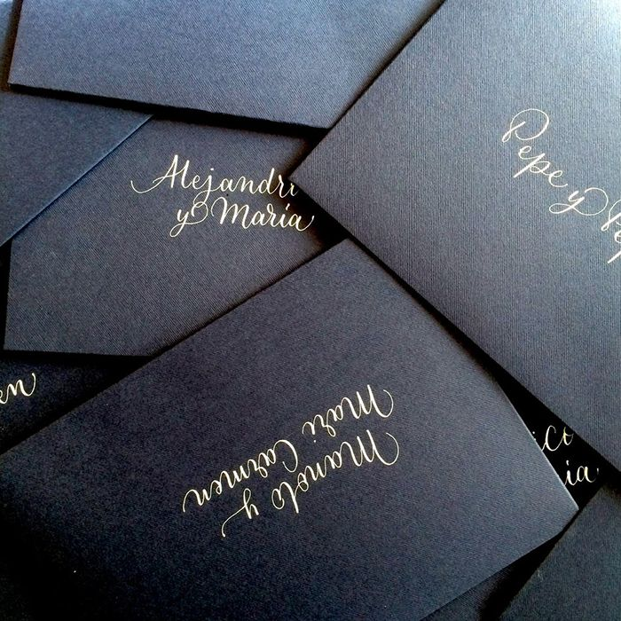 invitacion negra