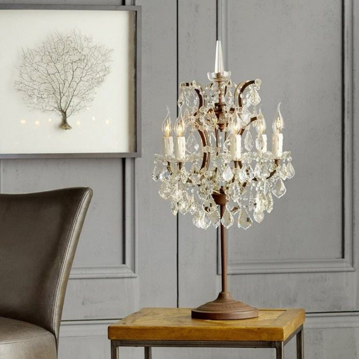 lampara clasica de mesa