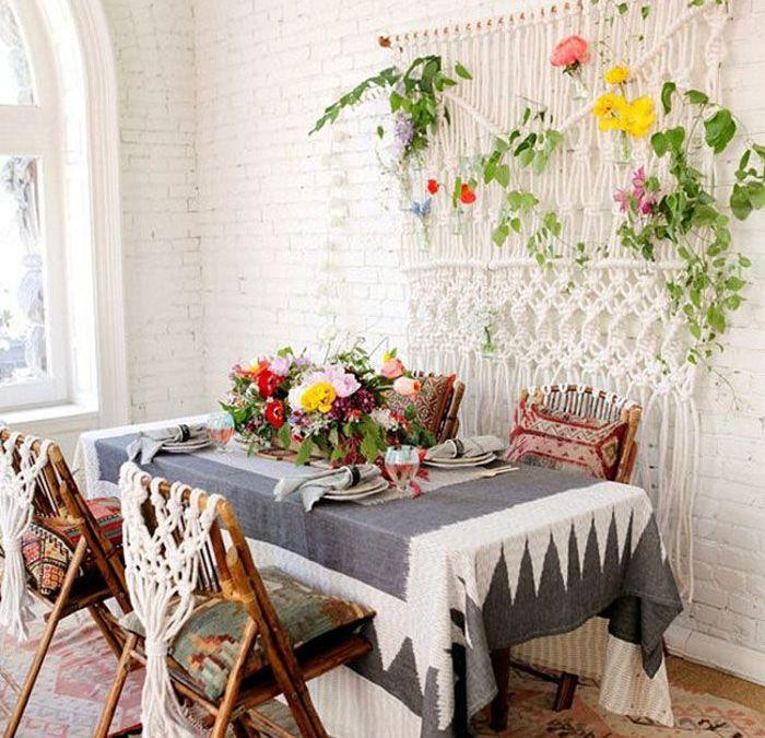 Decoración Boho: qué elementos caracterizan una mesa con estilo bohemio