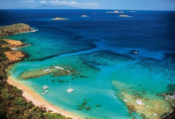 mar caribe turquesa