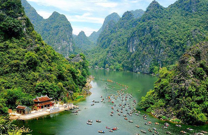 naturaleza en vietnam
