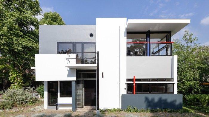 La casa Schröder en Utrecht, el sueño de Gerrit Rietveld y la Sra. Schröder