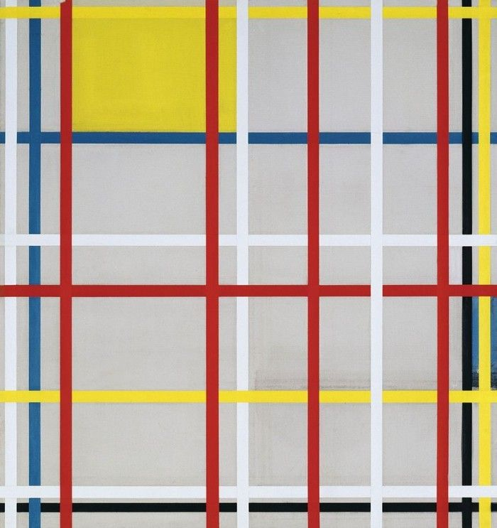 Manhattan mondrian