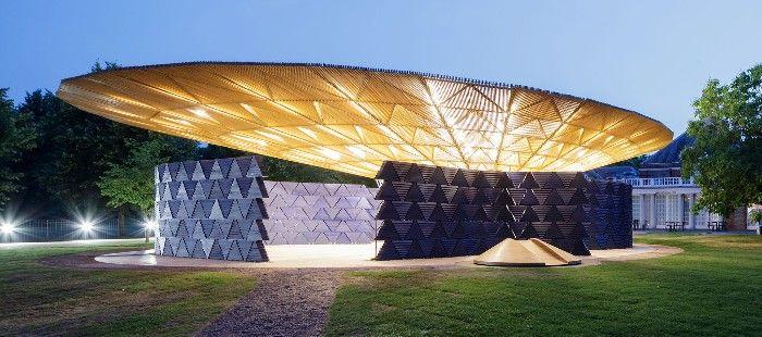 serpentine pavilion francis kere