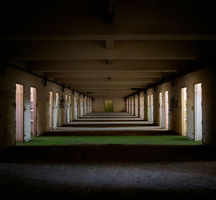 lugar abandonado foto artística