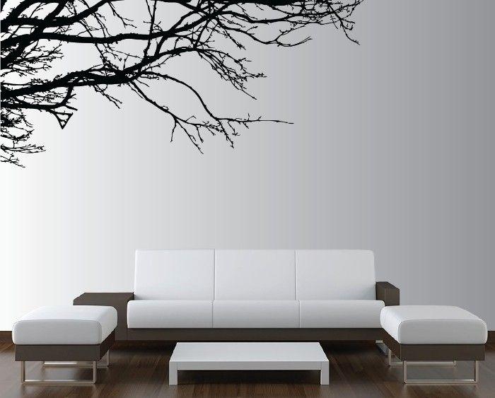 Vinilo árbol salon