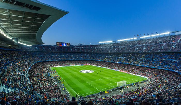 estadio nou camp barcelona