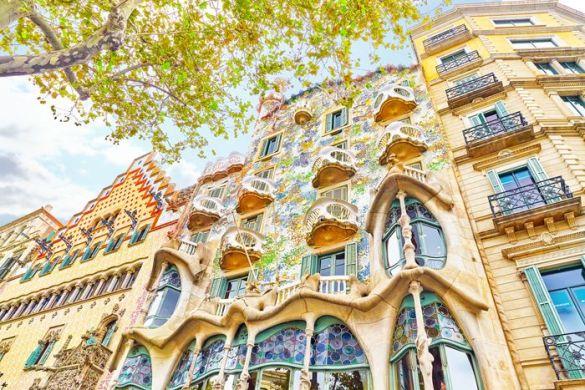 casa modernista gaudi barcelona