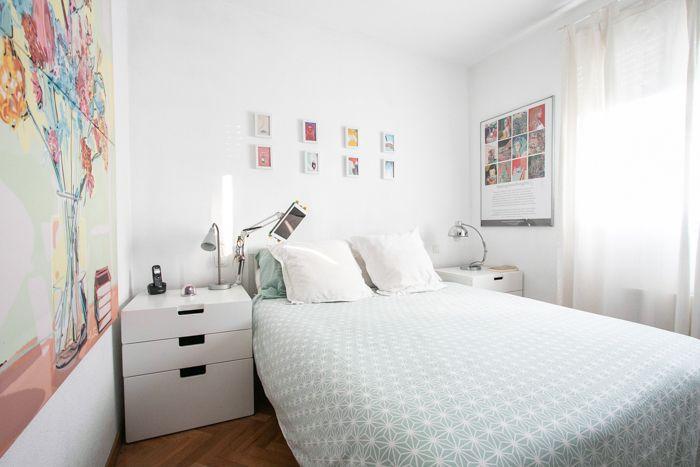 habitacion doble con ilustraciones