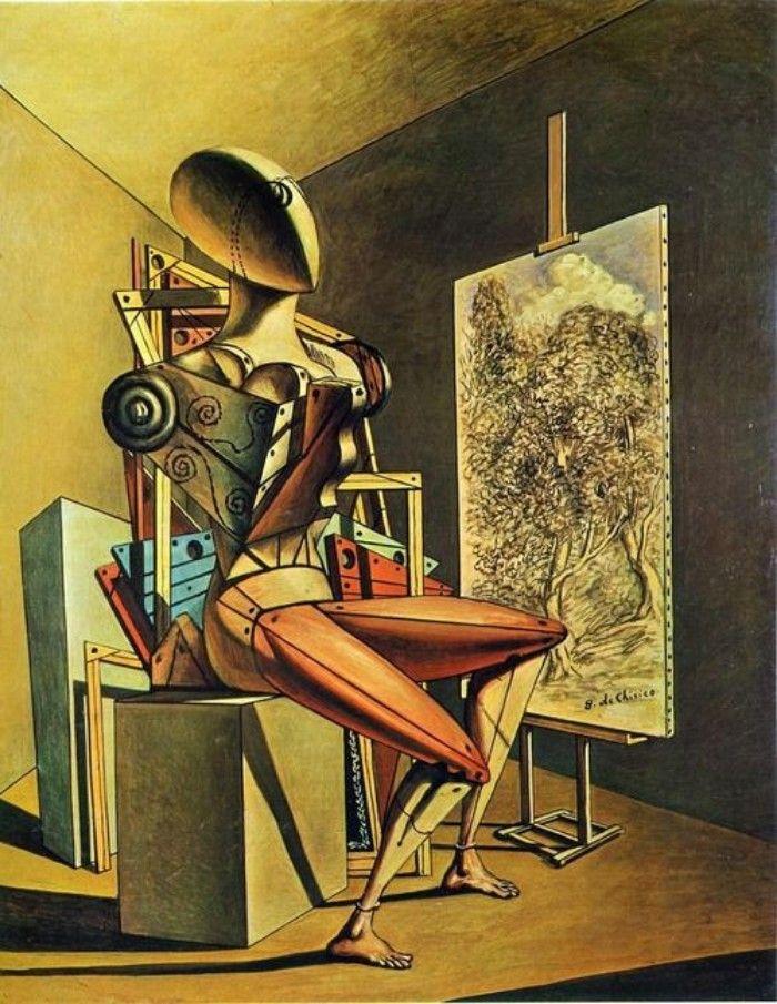 pintura pre surrealista