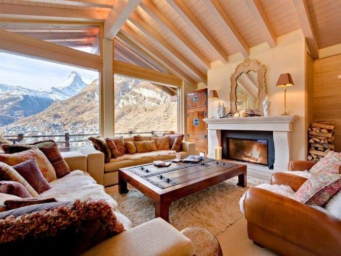 Aprovecha la última nieve del año alojándote en estos maravillosos chalets de Los Alpes