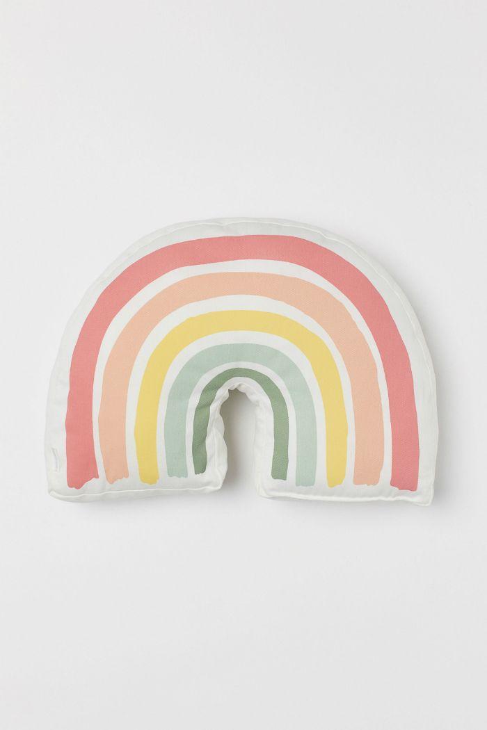 tendencia arco iris cojin
