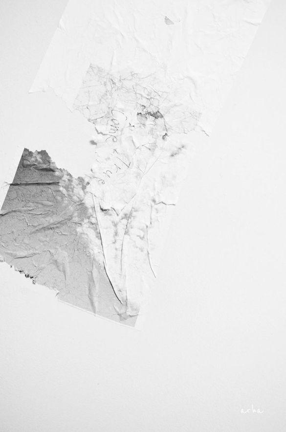 cuadro textura blanca y gris minimal