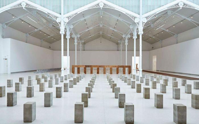 arte minimalista escultorico carl andre
