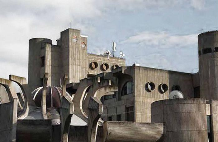 edificios brutalistas publicos