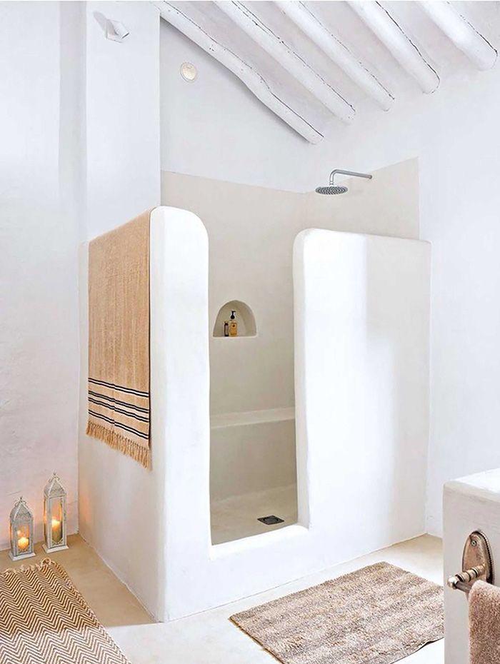 ducha encalada estilo marroqui