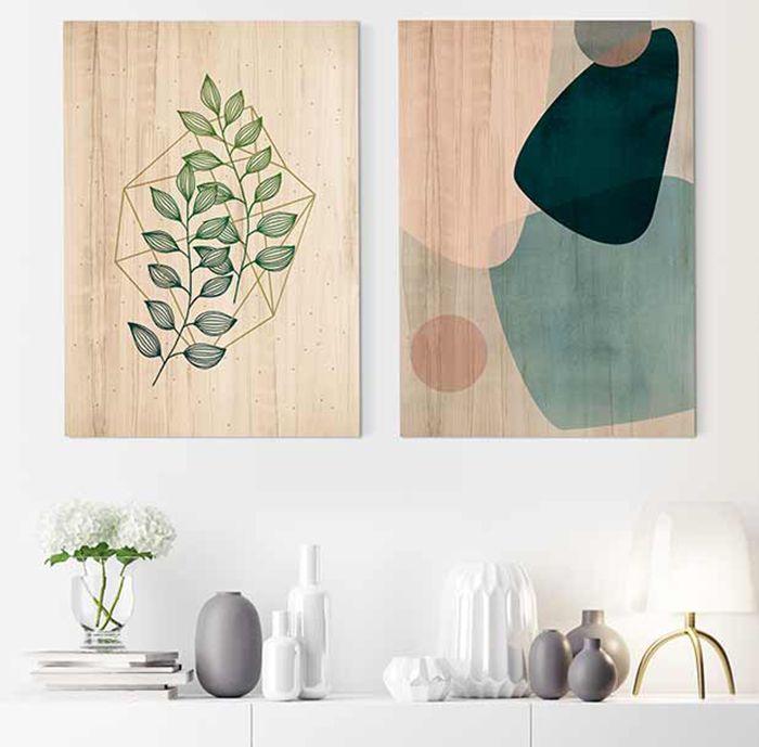 imagenes impresas madera