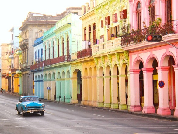 casas de colores cuba