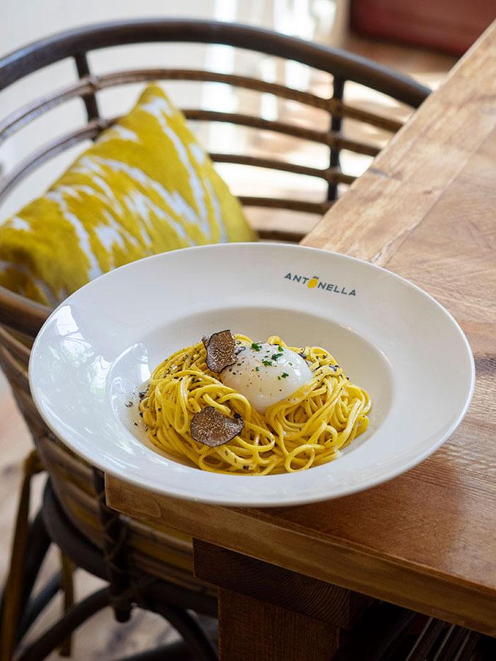 espagueti carbonara antonella madrid