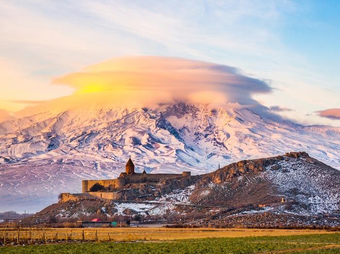 Monasterio Khor Virap armenio