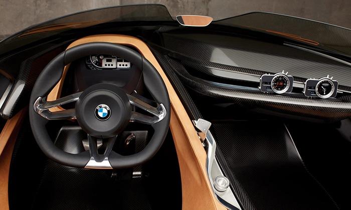 salpicadero BMW deportivo