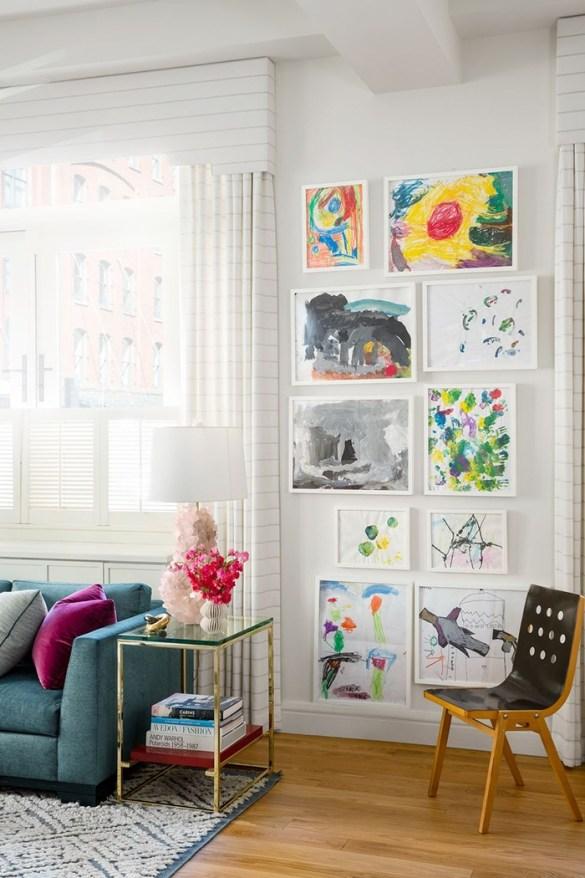salon pinturas niño