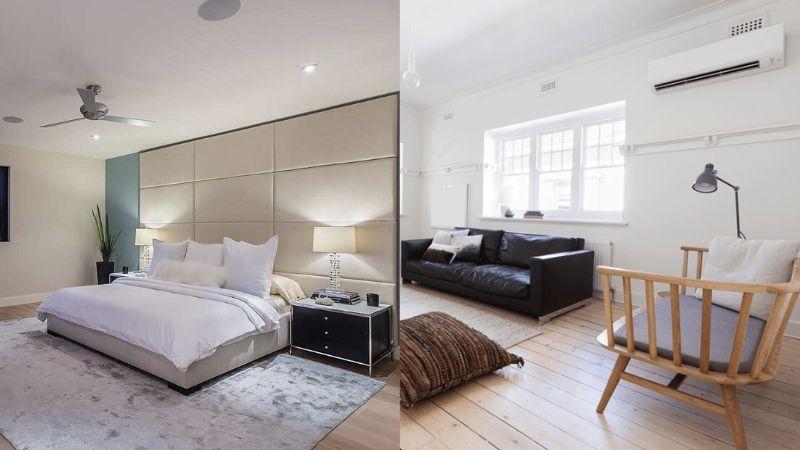 ¿Ventiladores de techo o aire acondicionado?