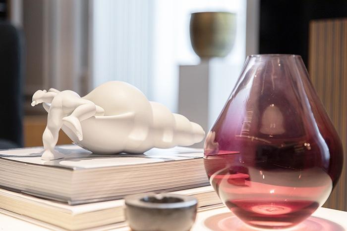 vaso cristal granate casa decor 2020