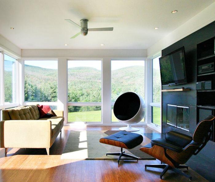 ventiladores de techo de diseño cirrus modern fan