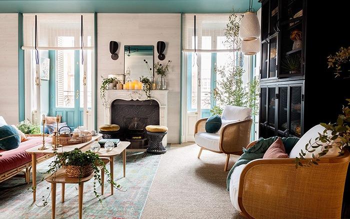 salon luminoso casa decor 2020