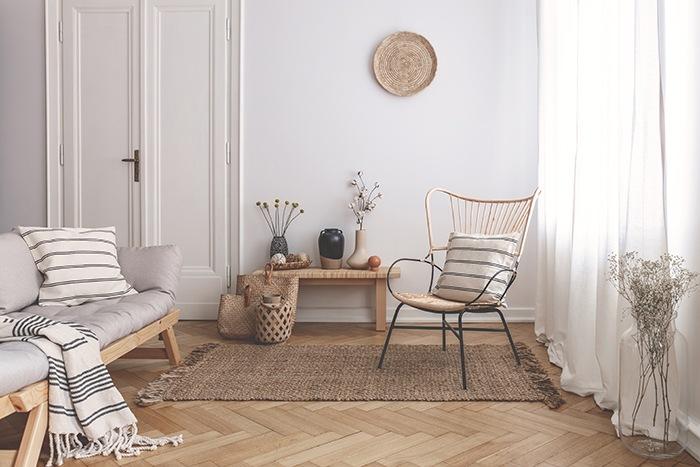 foto de interiores sala estar