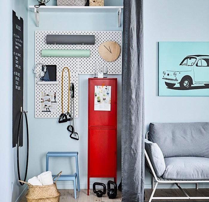 Gimnasio en casa: IKEA nos da las claves para montarlo