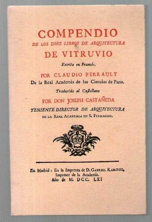 Compendio de los diez libros de arquitectura (1752)