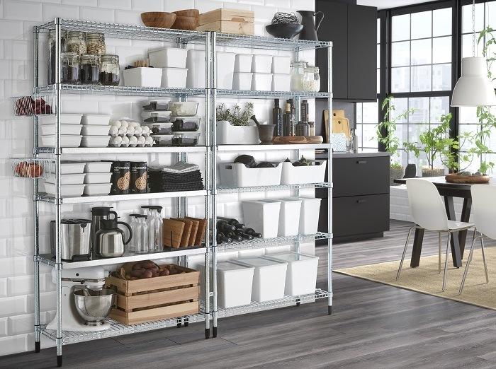 ideas para organizar tu despensa estanterias modulares