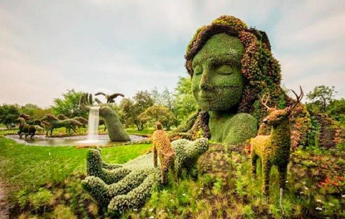 jardines botánicos en canada