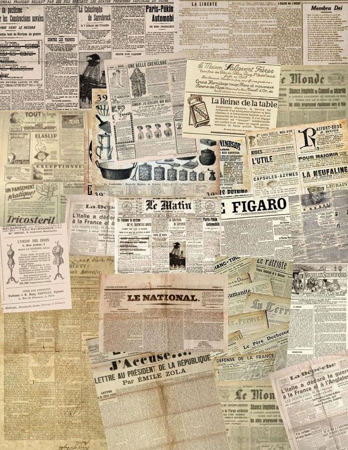 periodicos collage