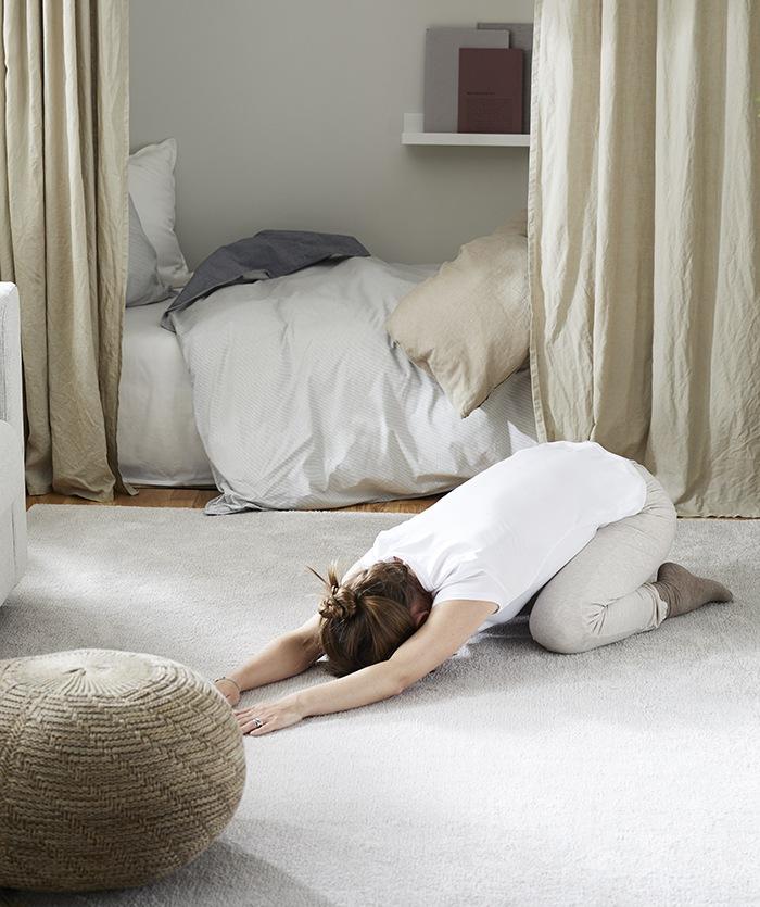 alfombras ejercicio hogar