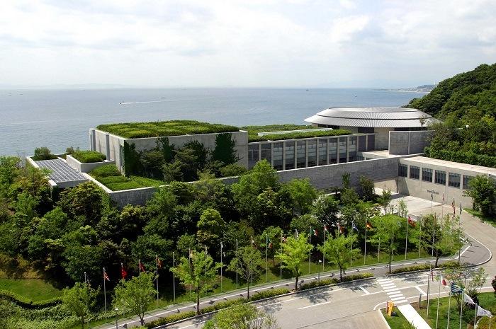 complejo de arquitectura vanguardia japonesa