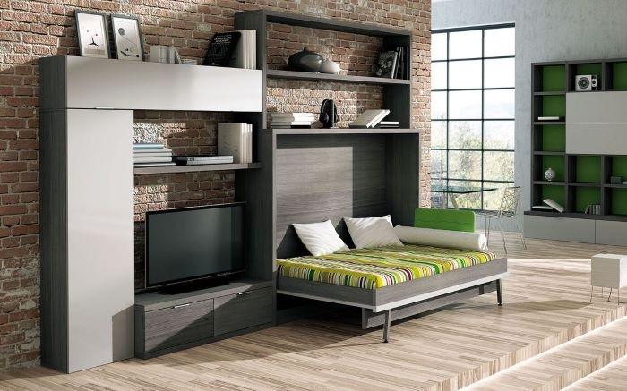 ¿Cómo serán las casas después del confinamiento? mueble adaptable
