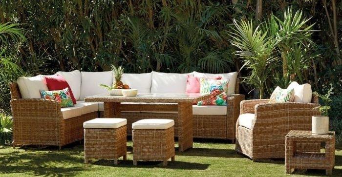 Poliratán, un material estético y resistente para tus muebles de jardín