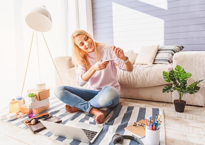 mujer tienda online muebles