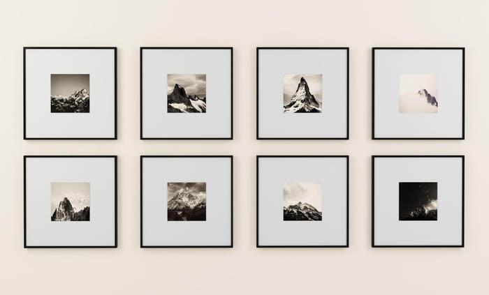 fotografias blanco y negro para decorar